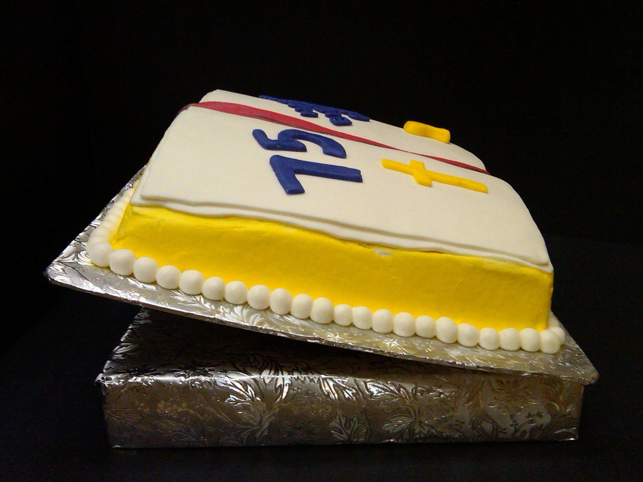 Religious Birthday Cake Designs