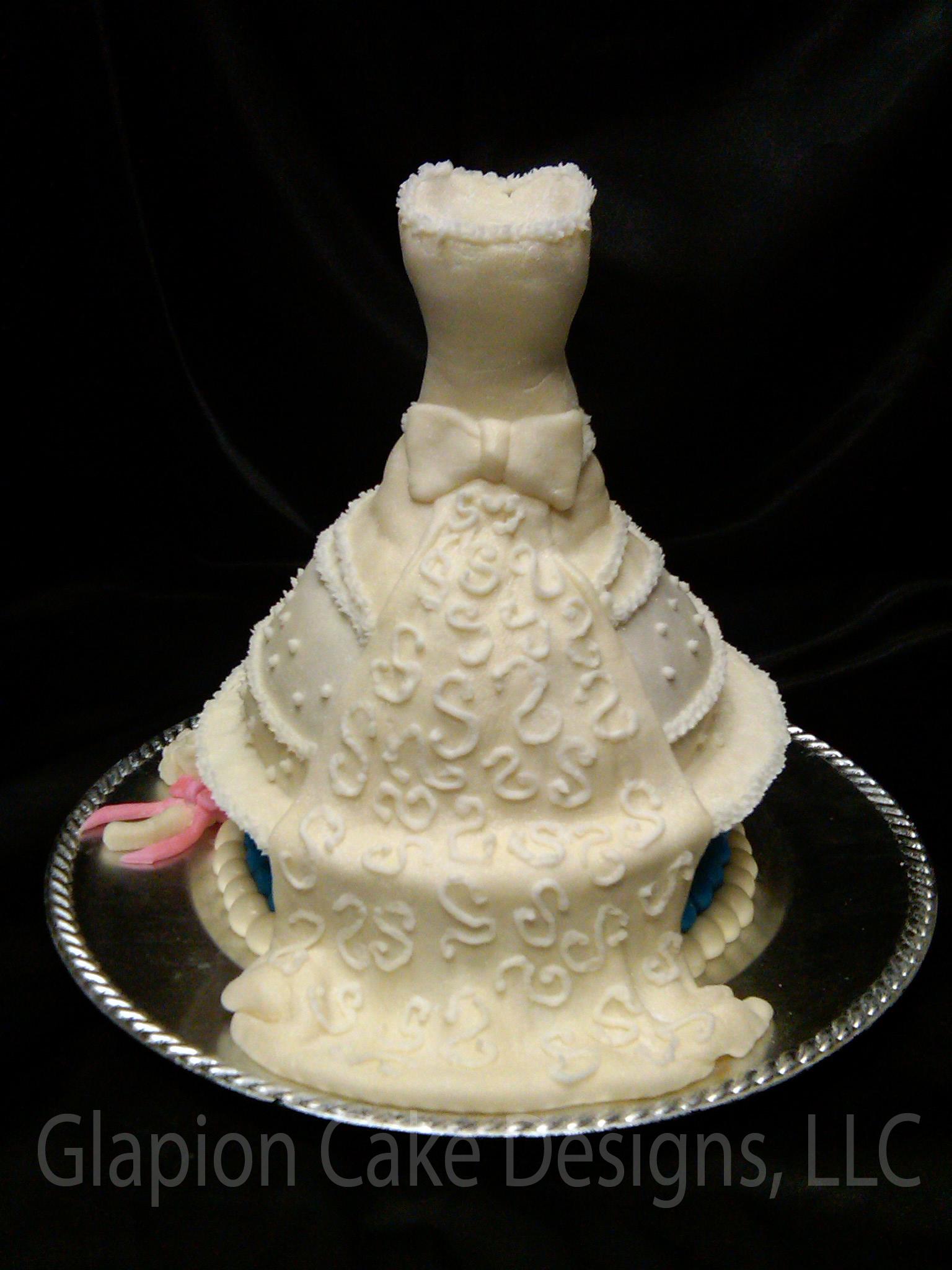 Bridal Shower Cakes Designs Wedding Invitation Sample